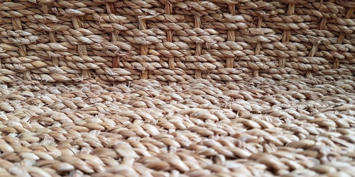 Sisal & seagrass dry cleaning